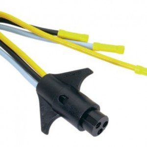 Attwood Connector - Trolling Motor (Male)