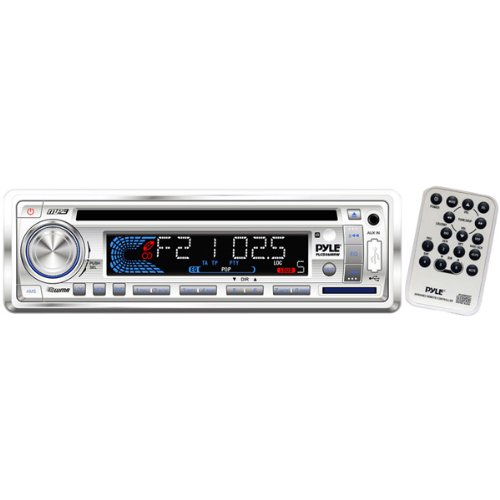 200-Watt AM/FM/MPX In-Dash Marine CD/MP3 Player with Weatherband/USB/SD Card Function