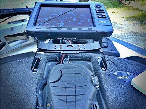 Tournament Grade Boat Fish Finder Mount, GPS, Electronics