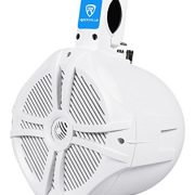 "(2) Pair of Rockville RWB80W 8"" White WakeBoard Tower Speakers Totaling 1200 Watt"